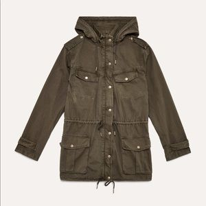 Talula utility jacket from aritzia